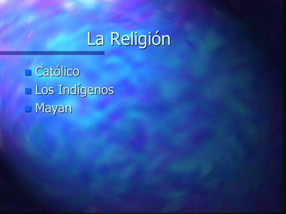 La Religión Católico Los Indígenos Mayan