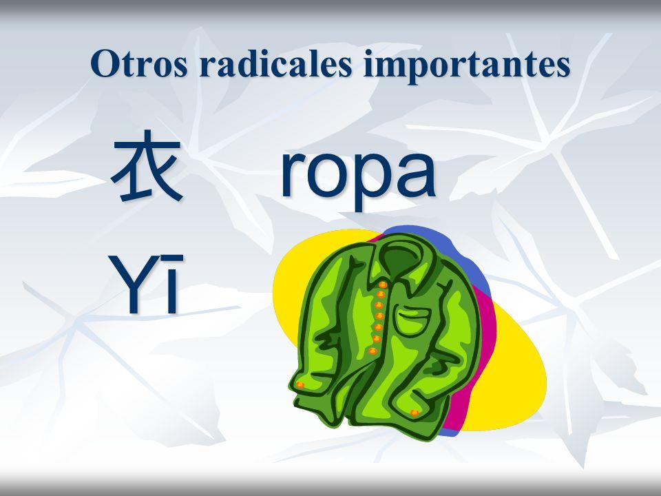 Otros radicales importantes