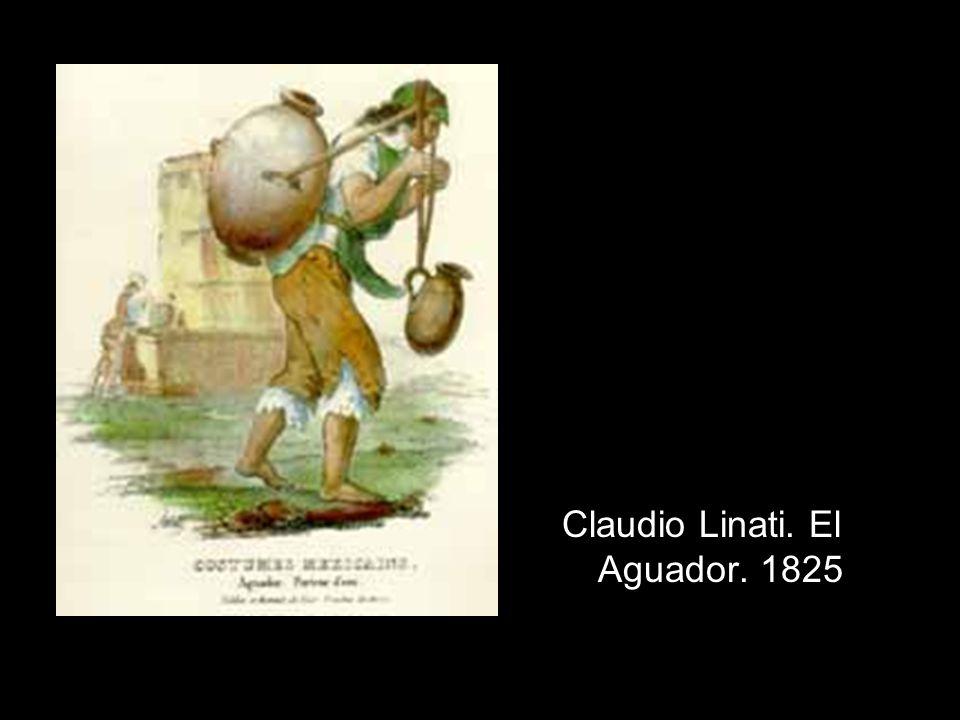 Claudio Linati. El Aguador. 1825