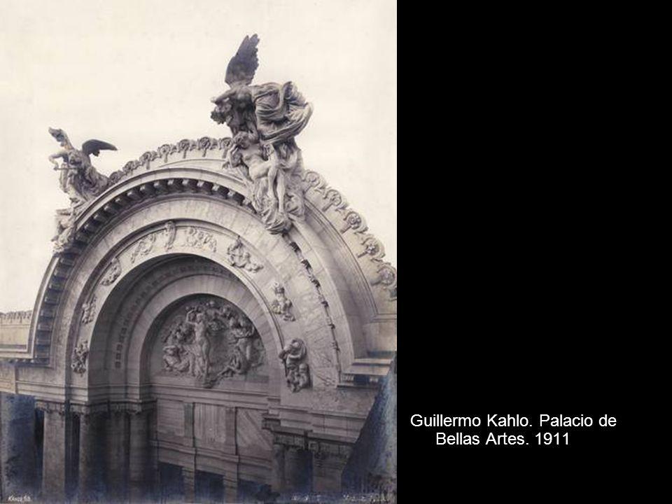 Guillermo Kahlo. Palacio de Bellas Artes. 1911