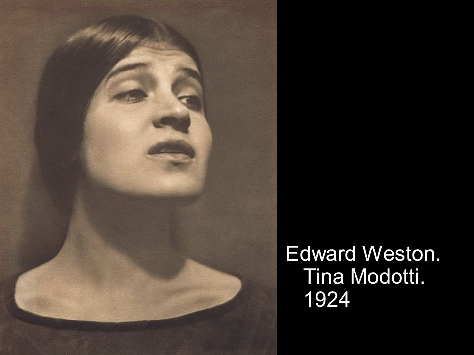 Edward Weston. Tina Modotti. 1924