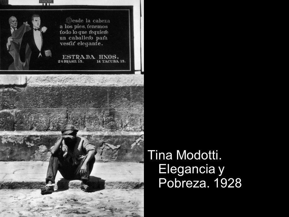 Tina Modotti. Elegancia y Pobreza. 1928