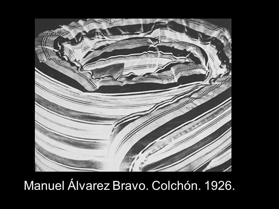 Manuel Álvarez Bravo. Colchón. 1926.