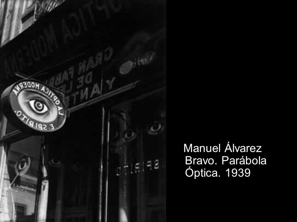 Manuel Álvarez Bravo. Parábola Óptica. 1939