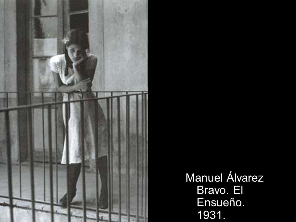 Manuel Álvarez Bravo. El Ensueño. 1931.