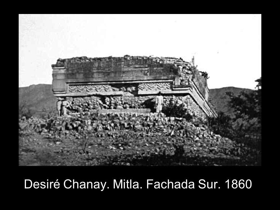Desiré Chanay. Mitla. Fachada Sur. 1860
