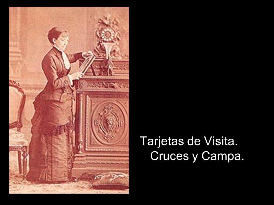 Tarjetas de Visita. Cruces y Campa.