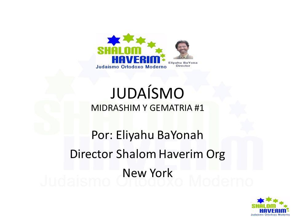 Director Shalom Haverim Org