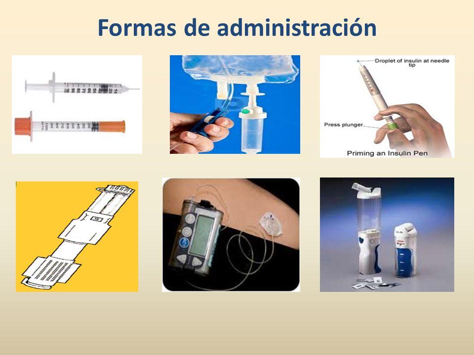 Formas de administración