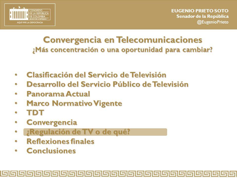 Convergencia en Telecomunicaciones ¿Más concentración o una oportunidad para cambiar