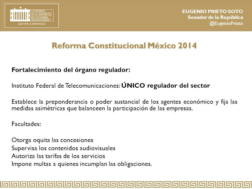 Reforma Constitucional México 2014