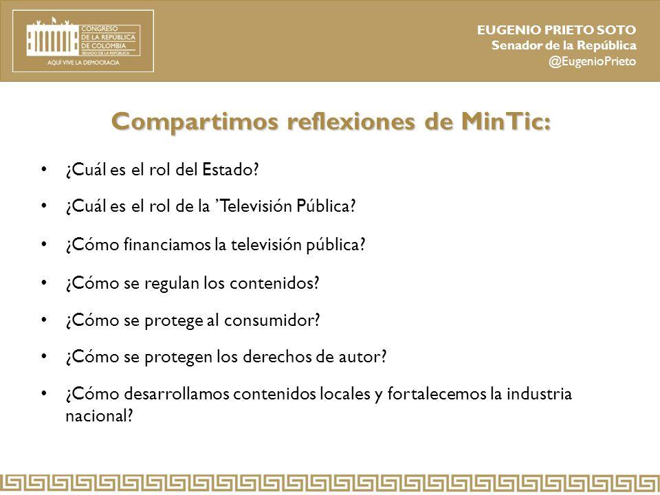 Compartimos reflexiones de MinTic: