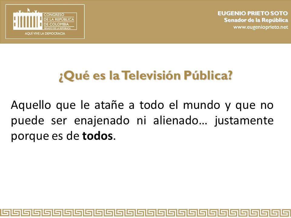 ¿Qué es la Televisión Pública