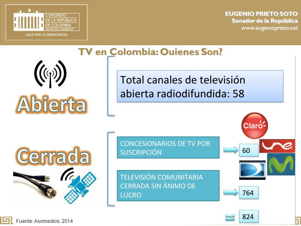 TV en Colombia: Quienes Son