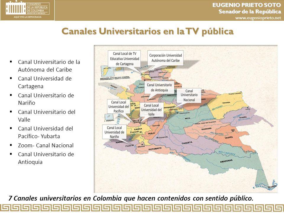 Canales Universitarios en la TV pública