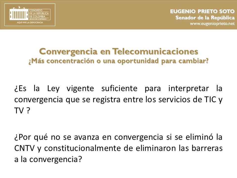 EUGENIO PRIETO SOTO Senador de la República. www.eugenioprieto.net.