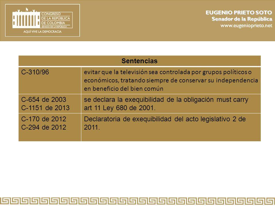 Declaratoria de exequibilidad del acto legislativo 2 de 2011.