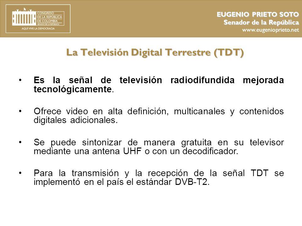 La Televisión Digital Terrestre (TDT)