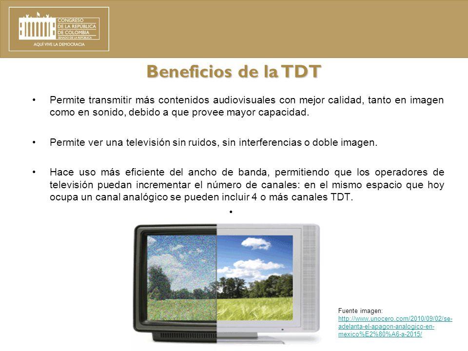 Beneficios de la TDT