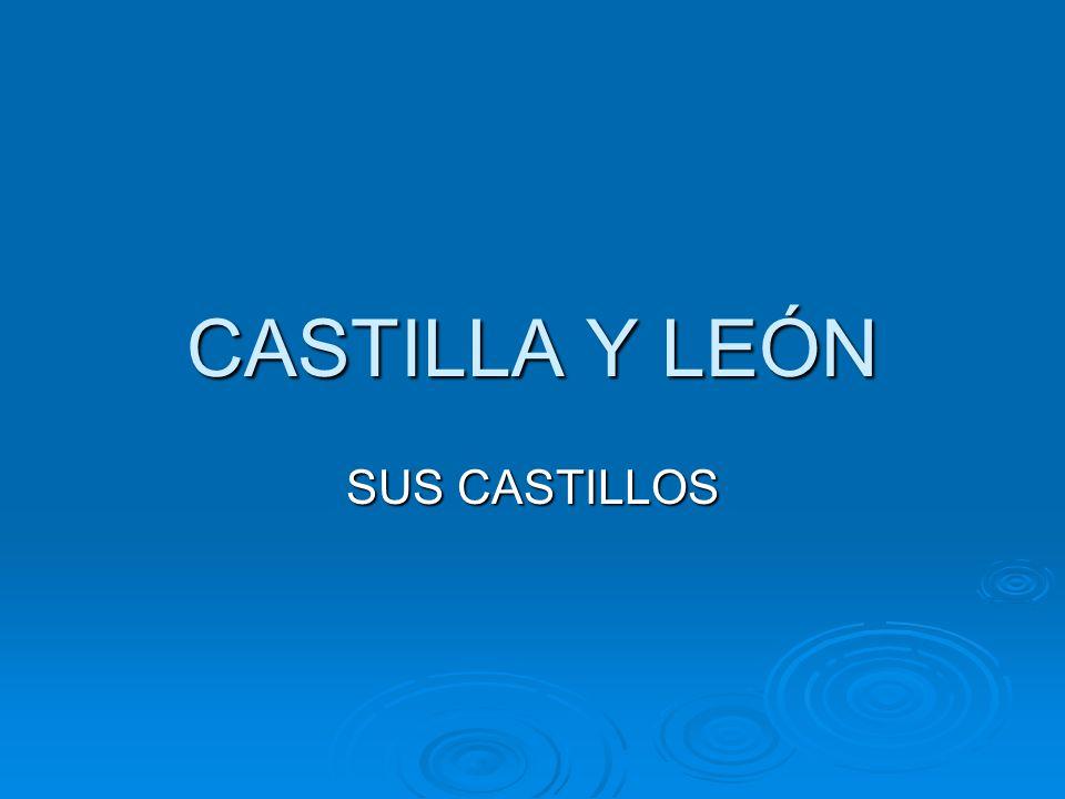 CASTILLA Y LEÓN SUS CASTILLOS