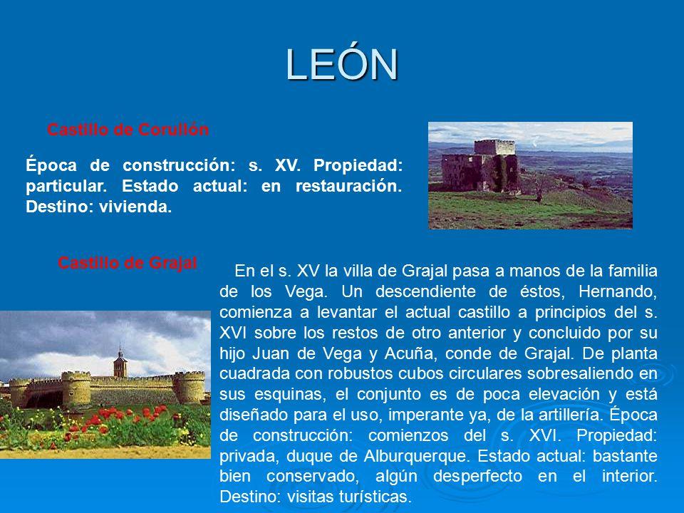 LEÓN Castillo de Corullón