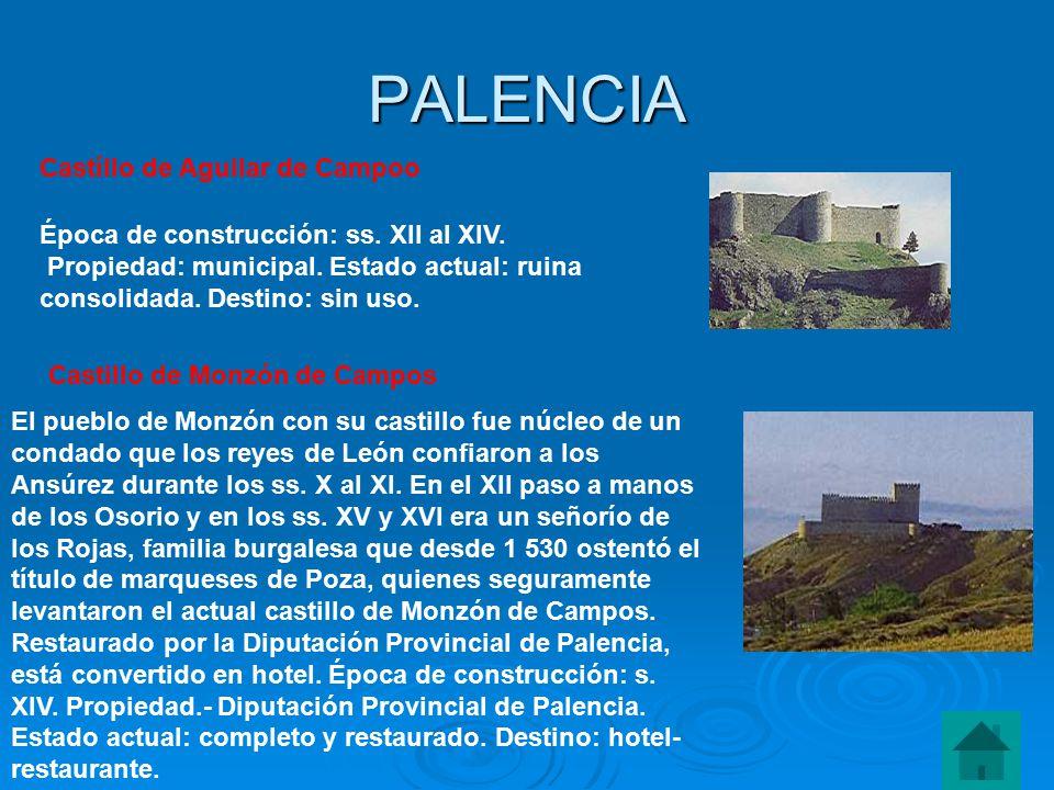 PALENCIA Castíllo de Aguilar de Campoo