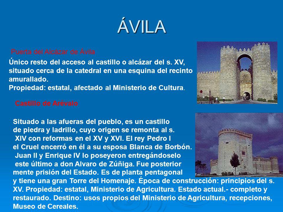 ÁVILA Puerta del Alcázar de Ávila