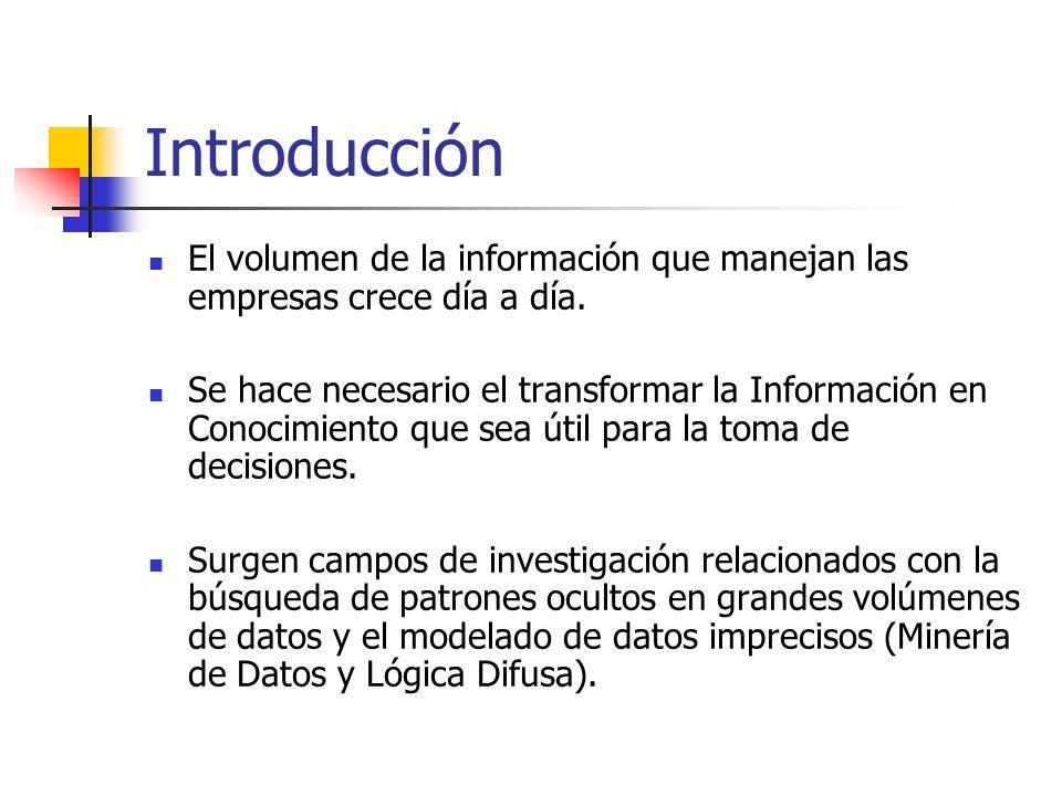 Introducción El volumen de la información que manejan las empresas crece día a día.