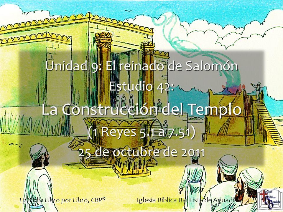 La Construcción del Templo
