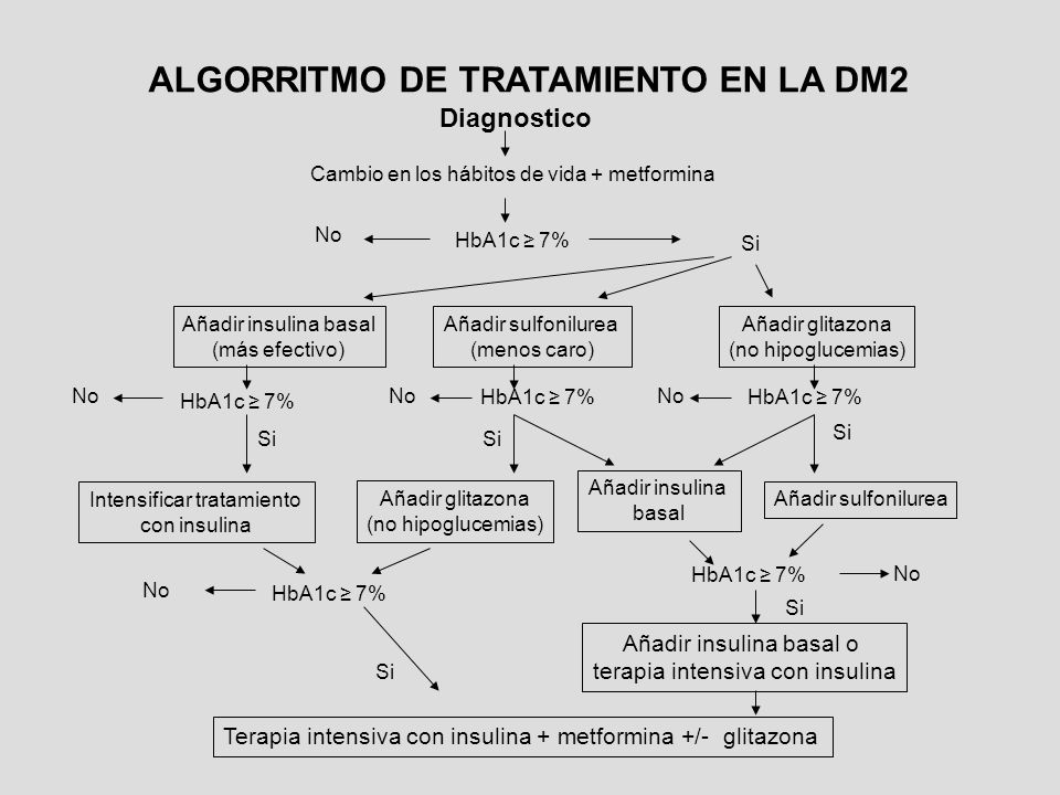 ALGORRITMO DE TRATAMIENTO EN LA DM2