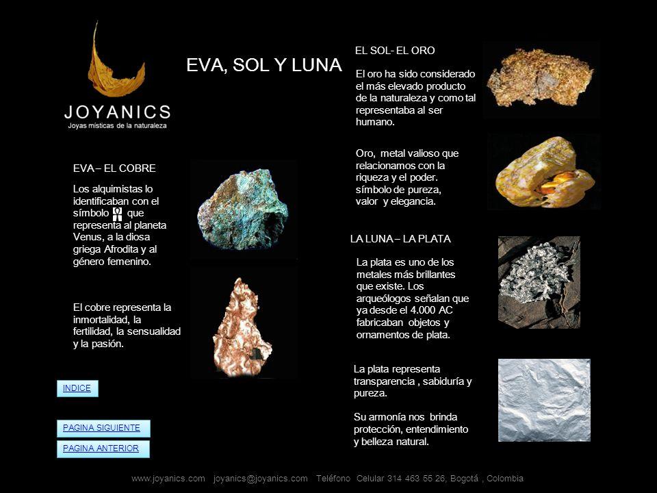 EVA, SOL Y LUNA EL SOL- EL ORO