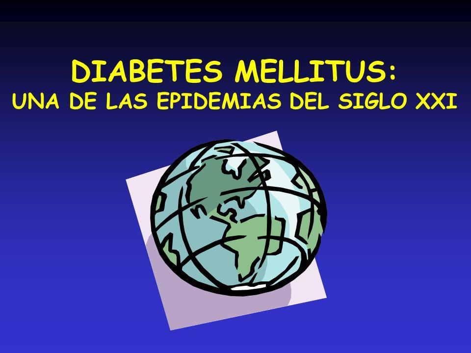 UNA DE LAS EPIDEMIAS DEL SIGLO XXI