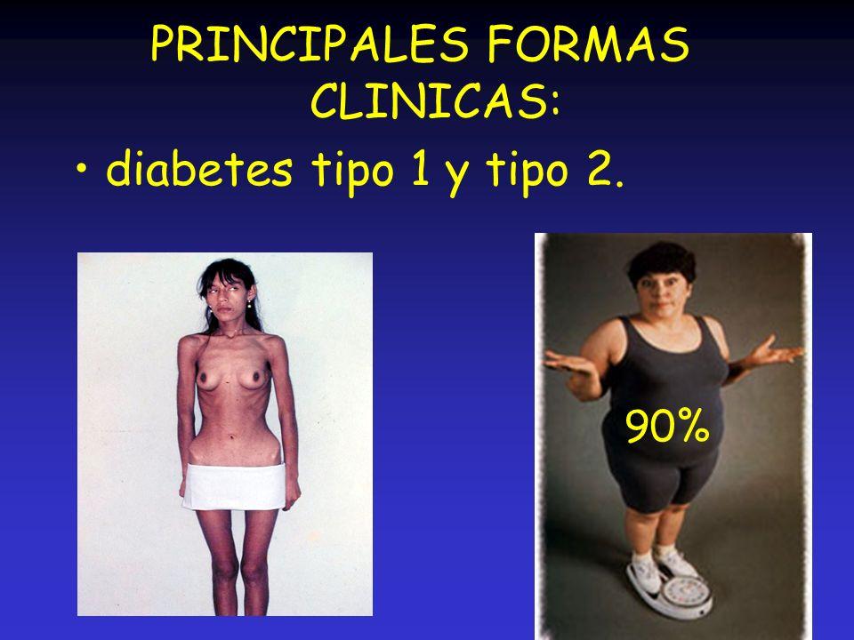 PRINCIPALES FORMAS CLINICAS: