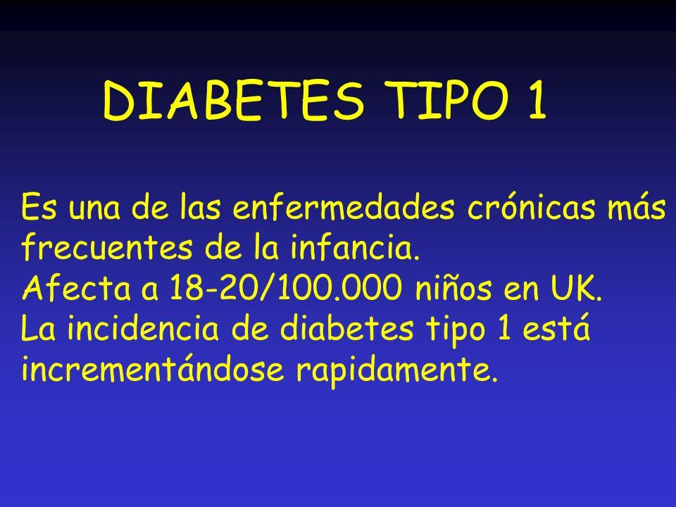 DIABETES TIPO 1 Es una de las enfermedades crónicas más