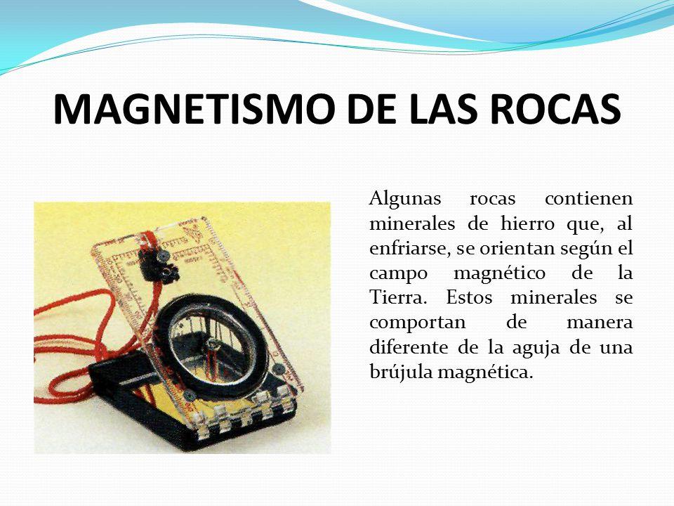 MAGNETISMO DE LAS ROCAS