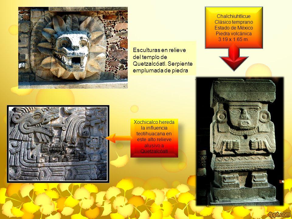 Chalchiuhtlicue Clásico temprano Estado de México Piedra volcánica 3