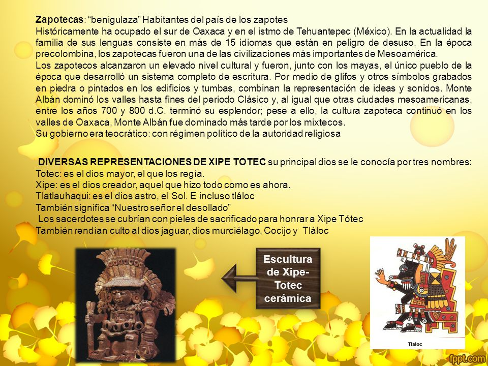 Escultura de Xipe-Totec cerámica
