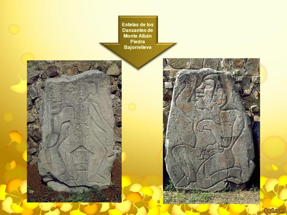 Estelas de los Danzantes de Monte Albán Piedra Bajorrelieve