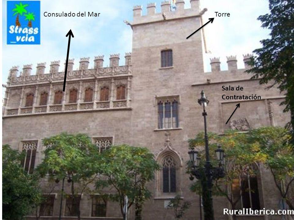 Consulado del Mar Torre Sala de Contratación