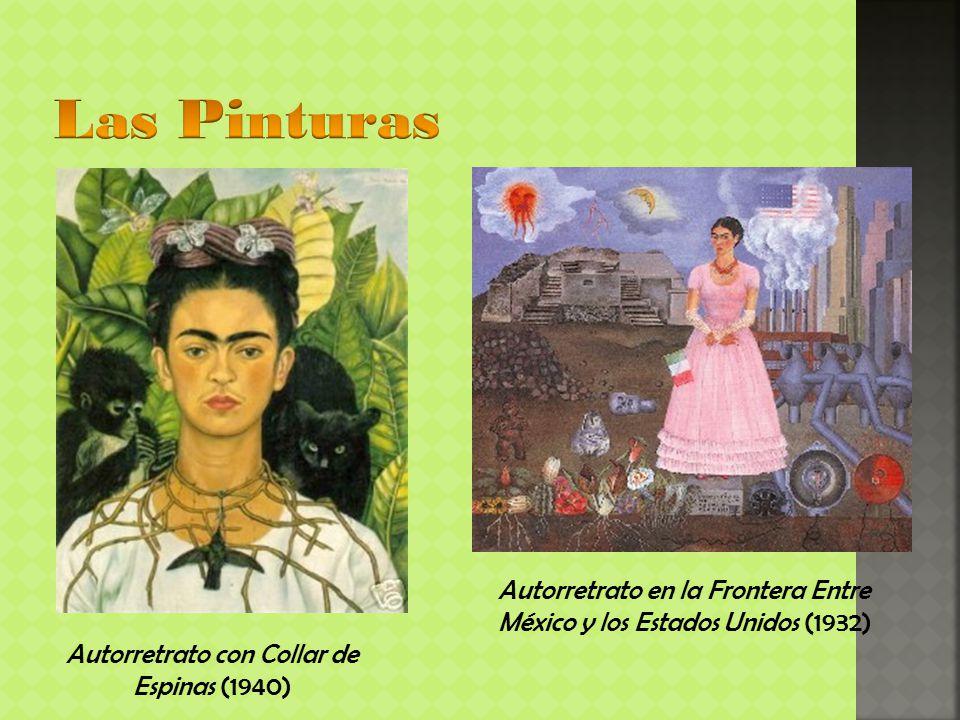 Autorretrato con Collar de Espinas (1940)