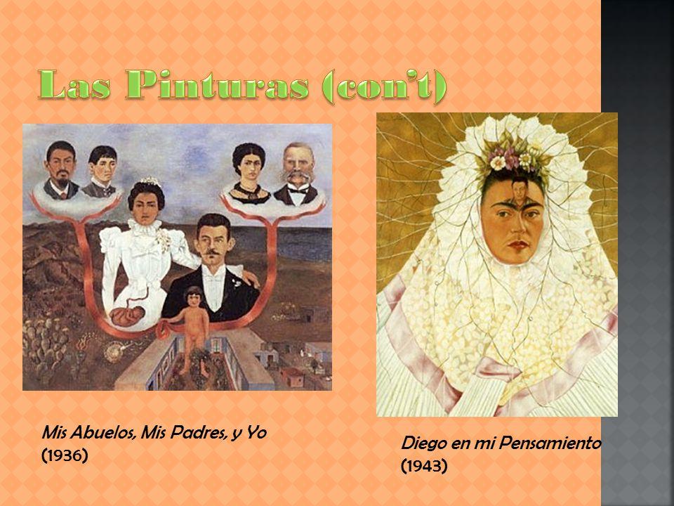 Las Pinturas (con't) Mis Abuelos, Mis Padres, y Yo (1936)
