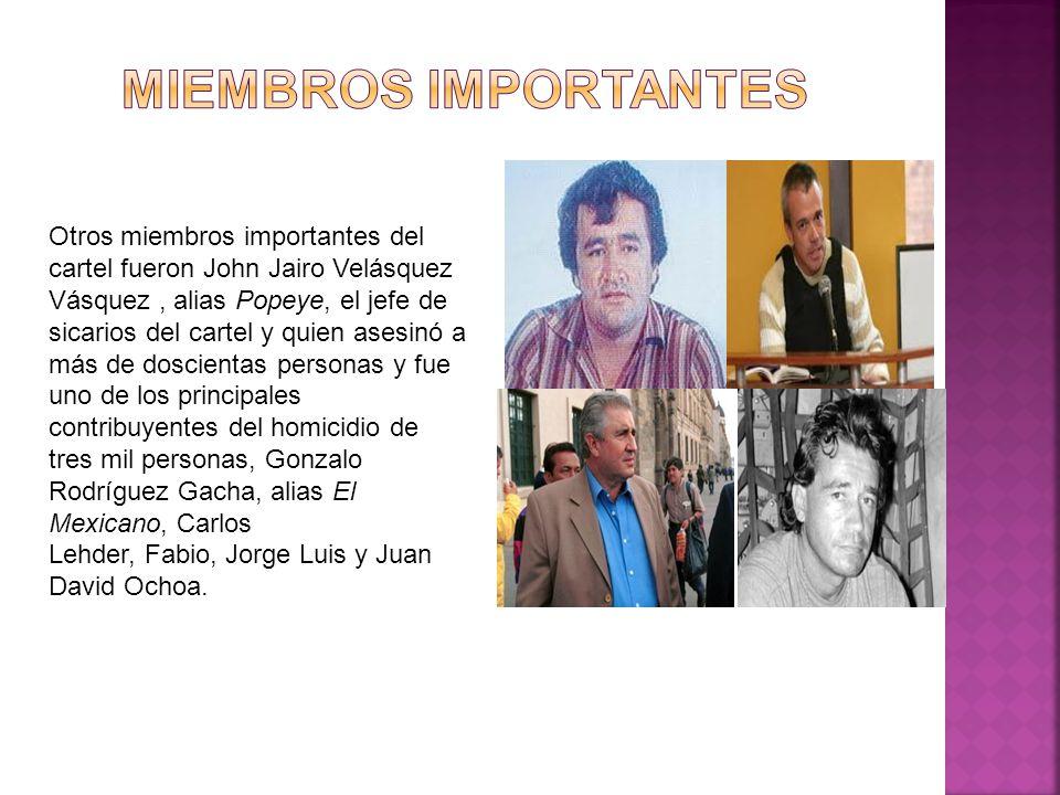 miembros importantes