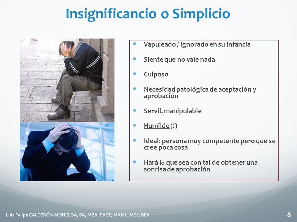 Insignificancio o Simplicio
