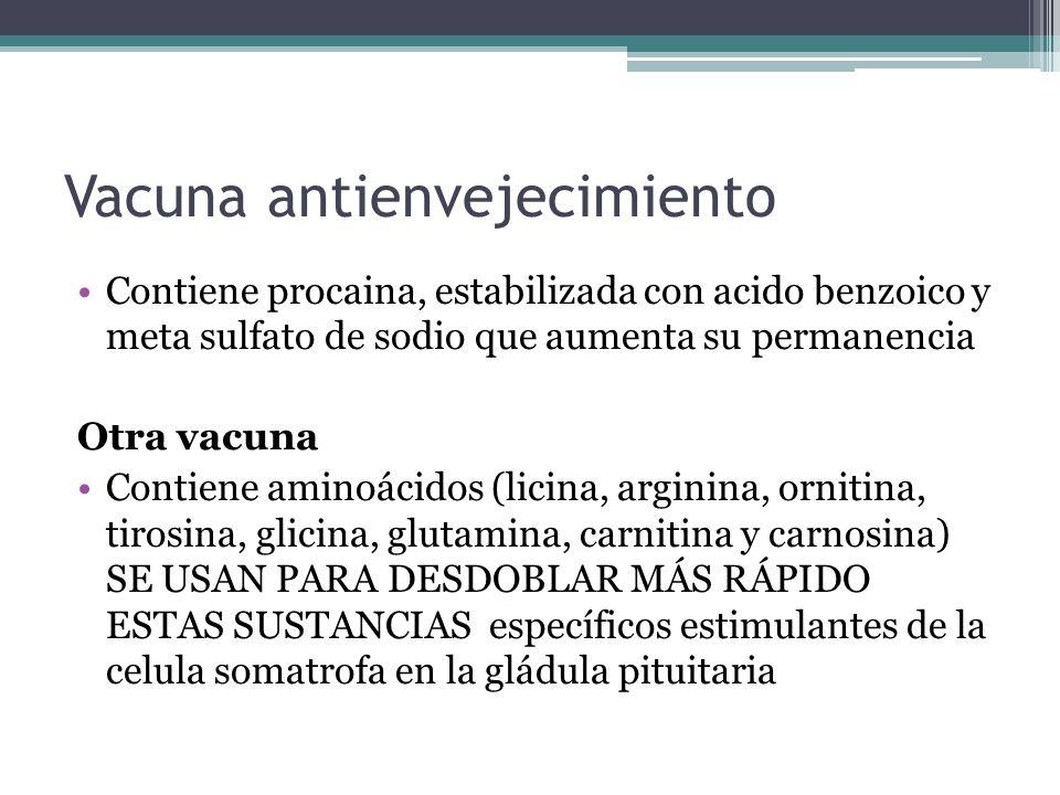 Vacuna antienvejecimiento