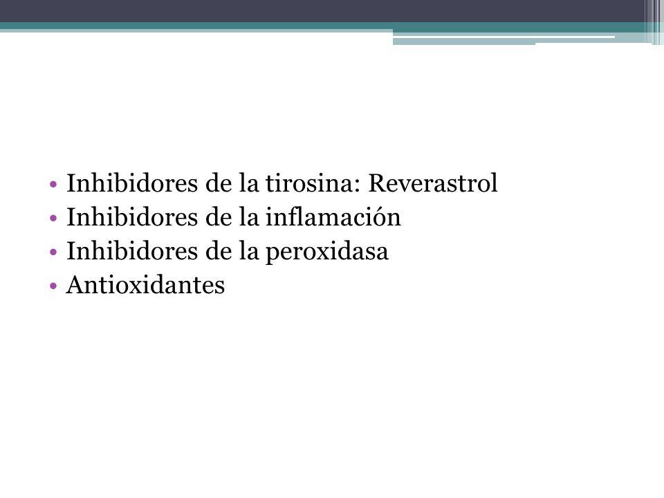 Inhibidores de la tirosina: Reverastrol