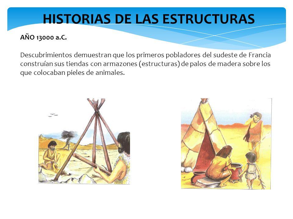 HISTORIAS DE LAS ESTRUCTURAS