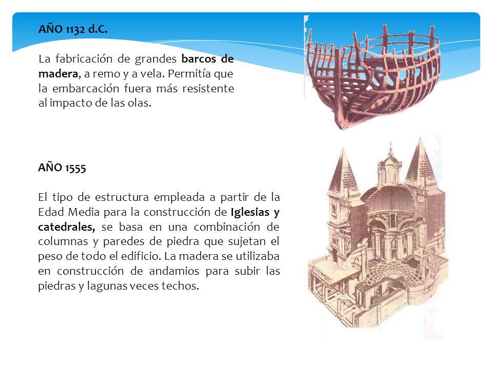 AÑO 1132 d.C. La fabricación de grandes barcos de madera, a remo y a vela. Permitía que la embarcación fuera más resistente al impacto de las olas.