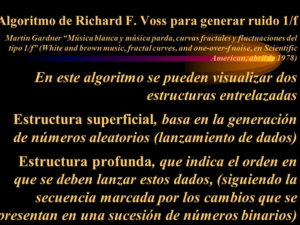 Algoritmo de Richard F.