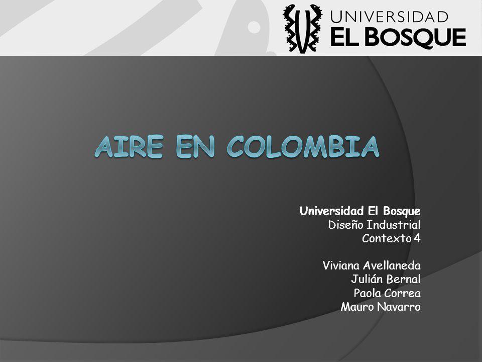 Aire en Colombia Universidad El Bosque Diseño Industrial Contexto 4