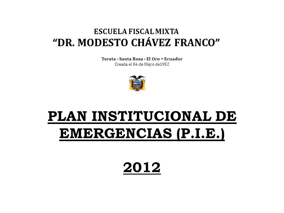 DR. MODESTO CHÁVEZ FRANCO